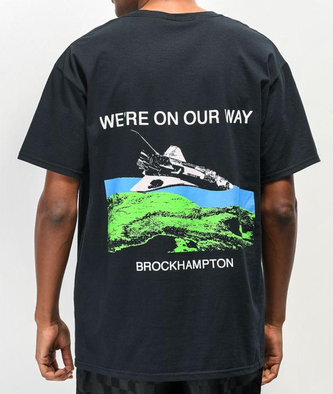 BROCKHAMPTON On Our Way Black T-Shirt