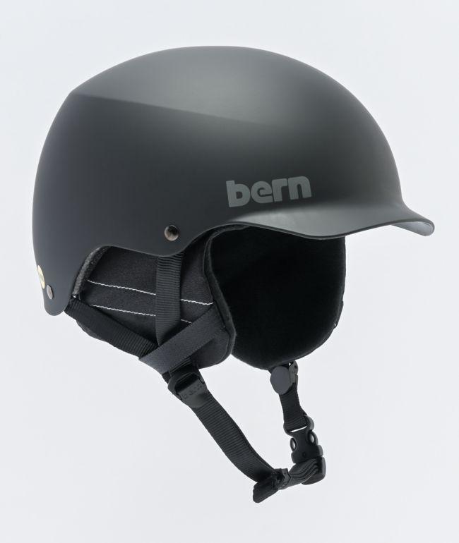 Bern Baker Black Snowboard Helmet