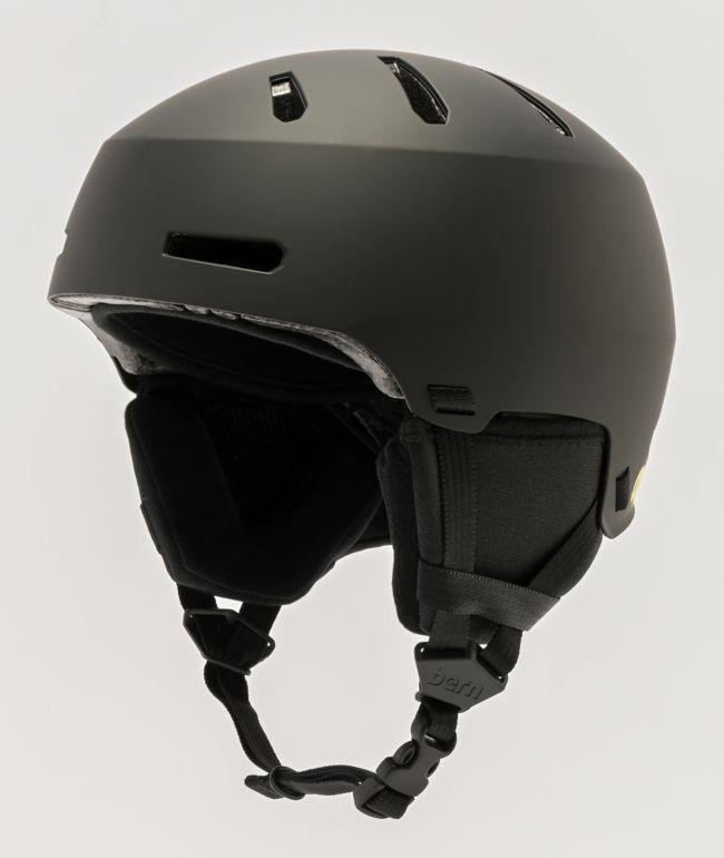 Bern Macon 2.0 MIPS casco de snowboard negro