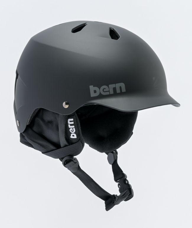Bern Watts 8Tracks Black Snowboard Helmet