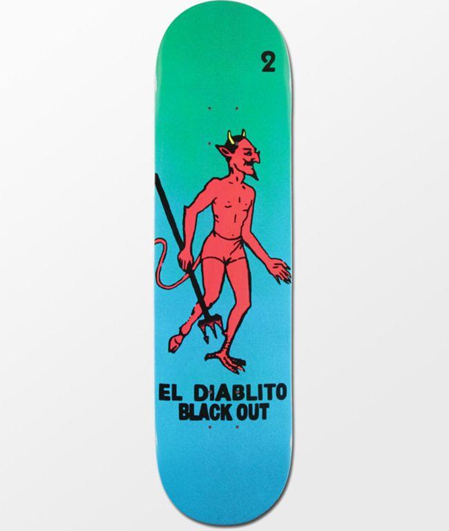 "Blackout El Diablito 8.25"" Skateboard Deck"