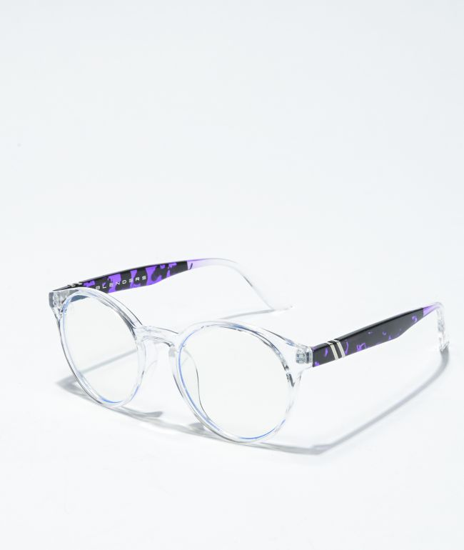 Blenders Coastal Clearly Wild Blue Light Glasses