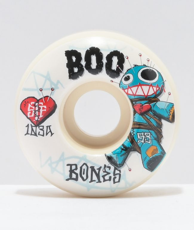 Bones Boo Johnson Voodoo 53mm 103a Skateboard Wheels