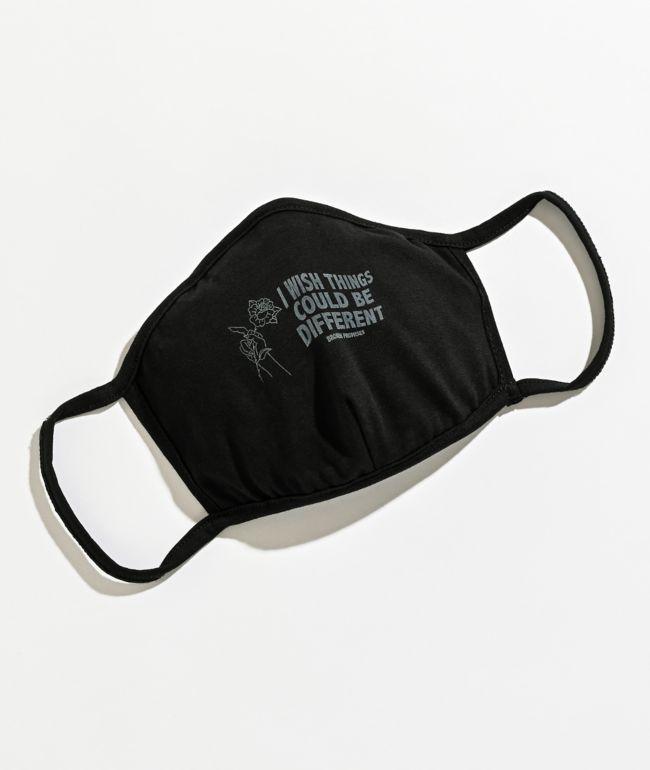Broken Promises CBD Black Face Mask