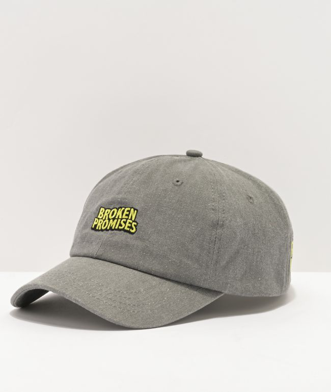 Broken Promises Find Myself Grey Dad Hat