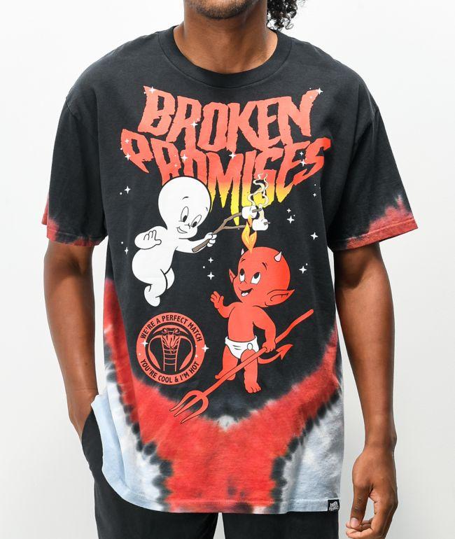 Broken Promises x Hot Stuff x Casper Match Tie Dye T-Shirt