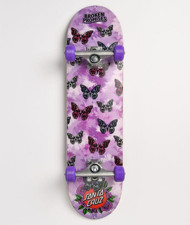 "Broken Promises x Santa Cruz Flutter 7.75"" Skateboard Complete"