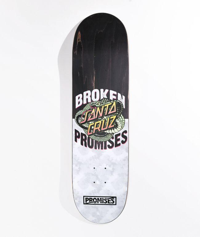 """Broken Promises x Santa Cruz Slither 8.5"""" Skateboard Deck"""