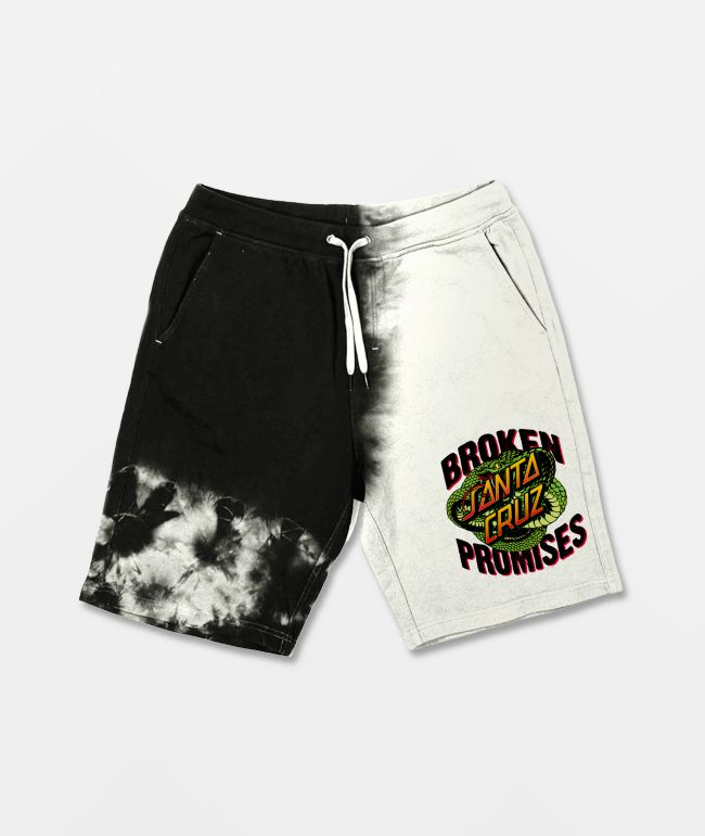 Broken Promises x Santa Cruz Slither Split Dye Sweat Shorts