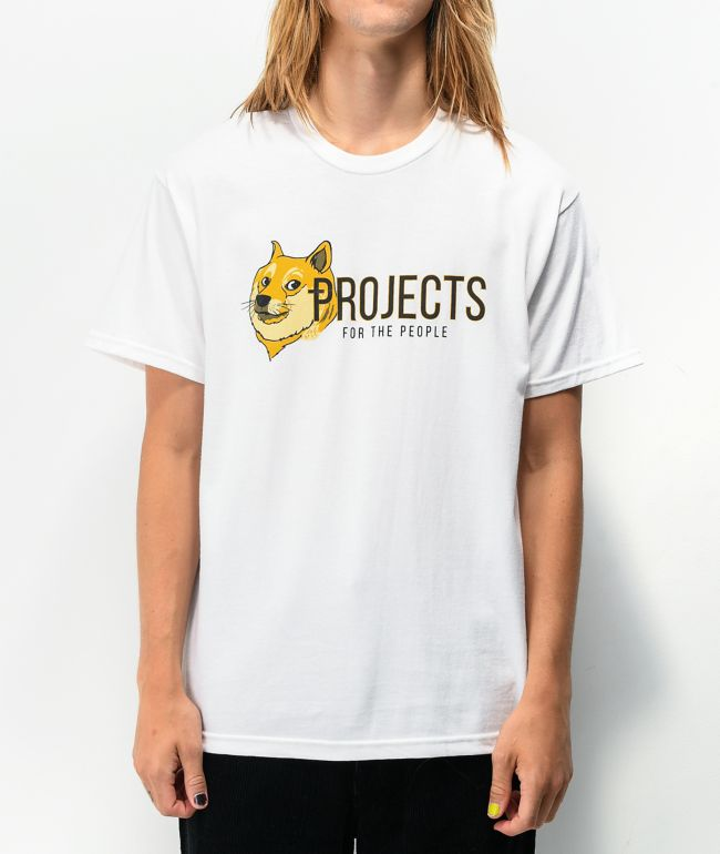 Brooklyn Projects For The People White T-Shirt