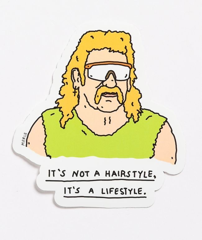 Brother Merle Lifestyle Sticker
