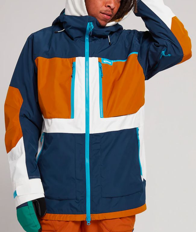 Burton Frostner Blue 10K Snowboard Jacket
