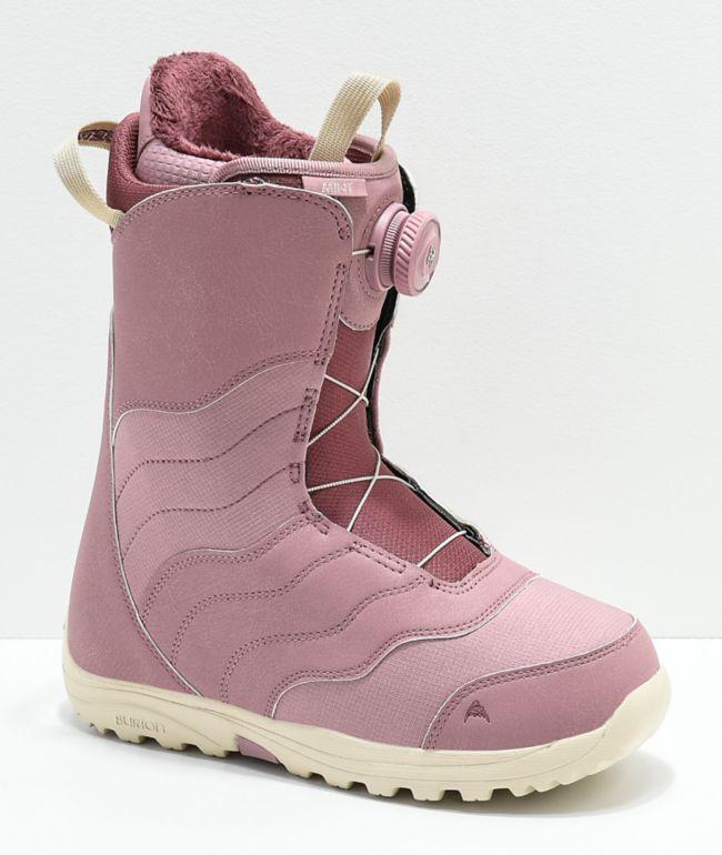 Burton Womens Mint Rose Boa Snowboard Boots 2019