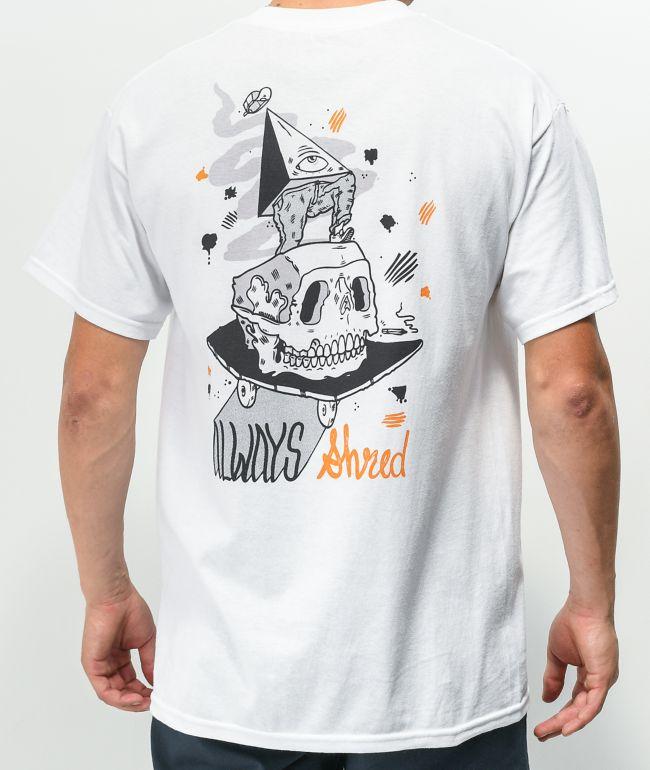 Caravan Always Shred White T-Shirt