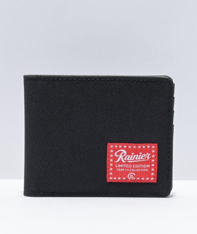 Casual Industrees x Rainier Black Bifold Wallet