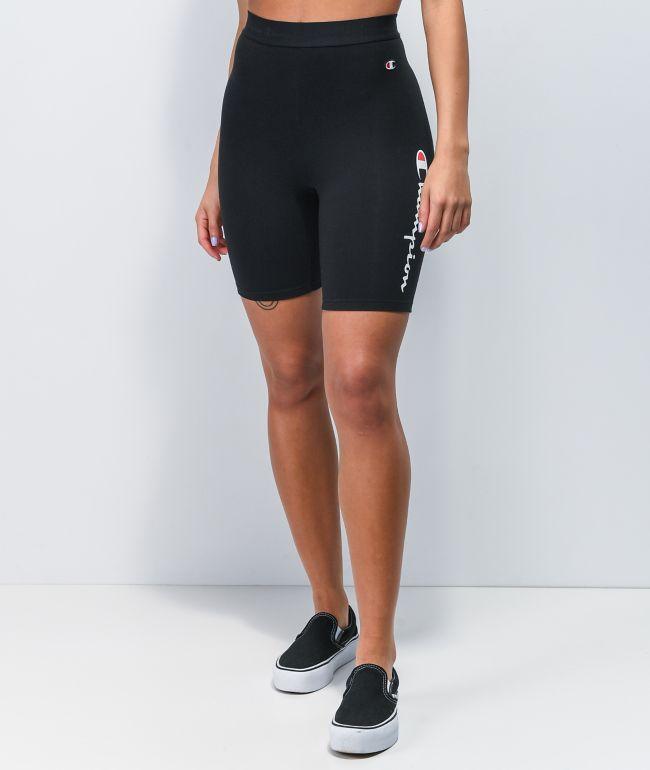 Champion Everyday Black Bike Shorts