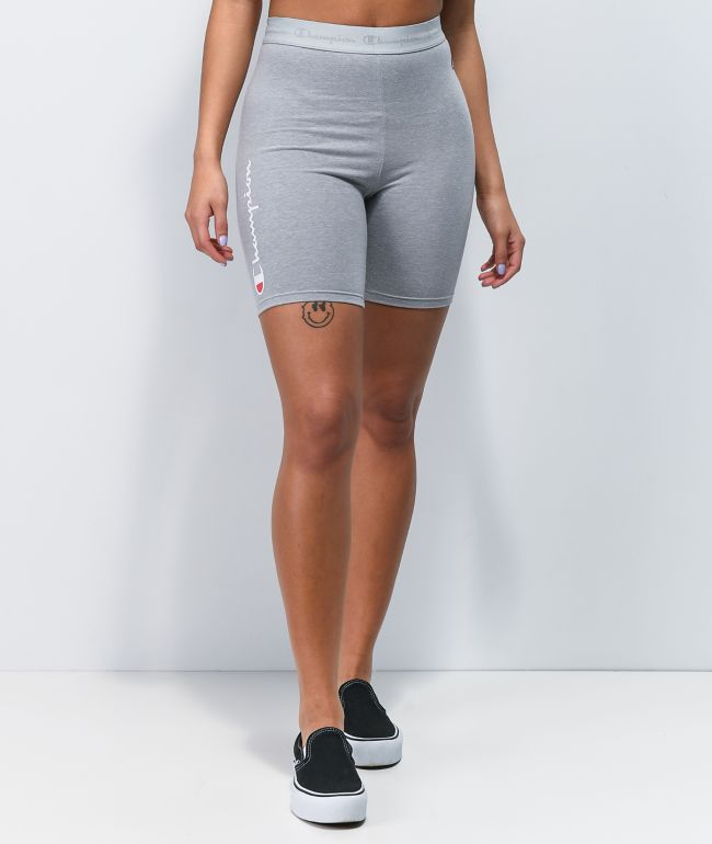 Champion Everyday Grey Bike Shorts