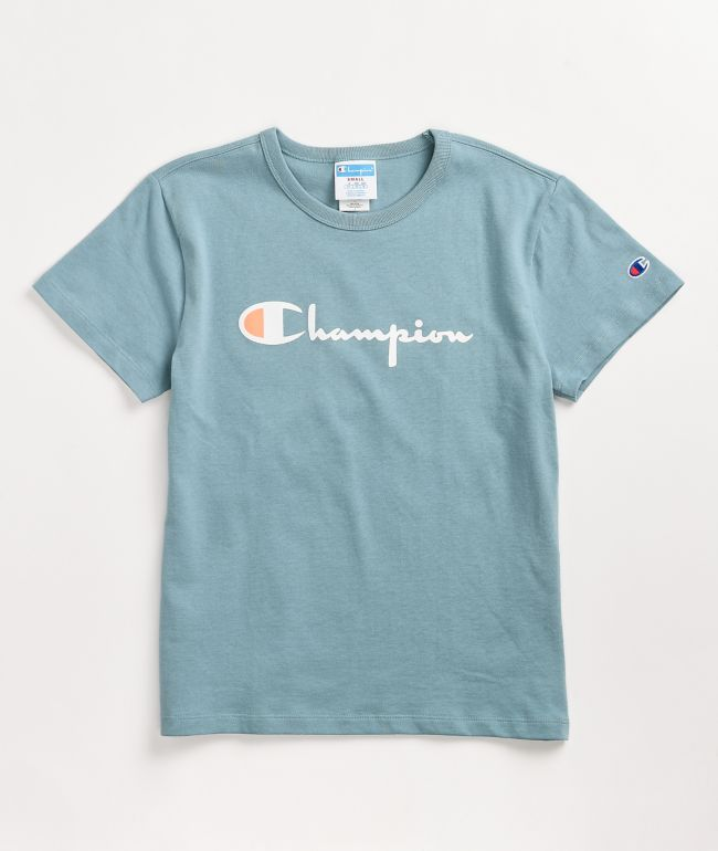 Champion Heritage Cornflower Teal T-Shirt