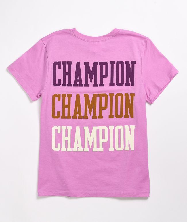 Champion Original Paper Orchid T-Shirt