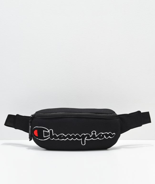 Champion Prime Black Fanny Pack