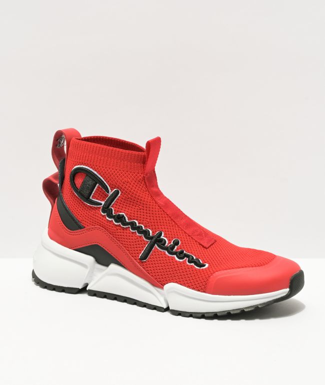 Champion Rally Flux Mid Scarlet Red