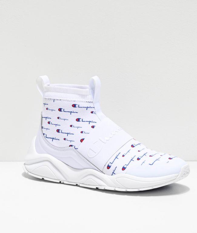 Champion Rally Pro Script zapatos blancos
