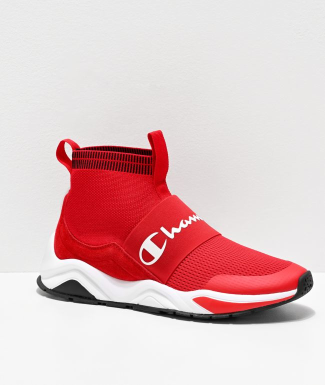 Champion Rally Pro zapatos rojos