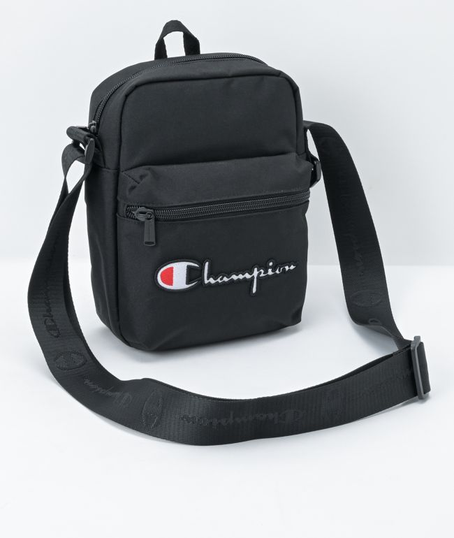 Champion Supercize Black Crossbody Bag