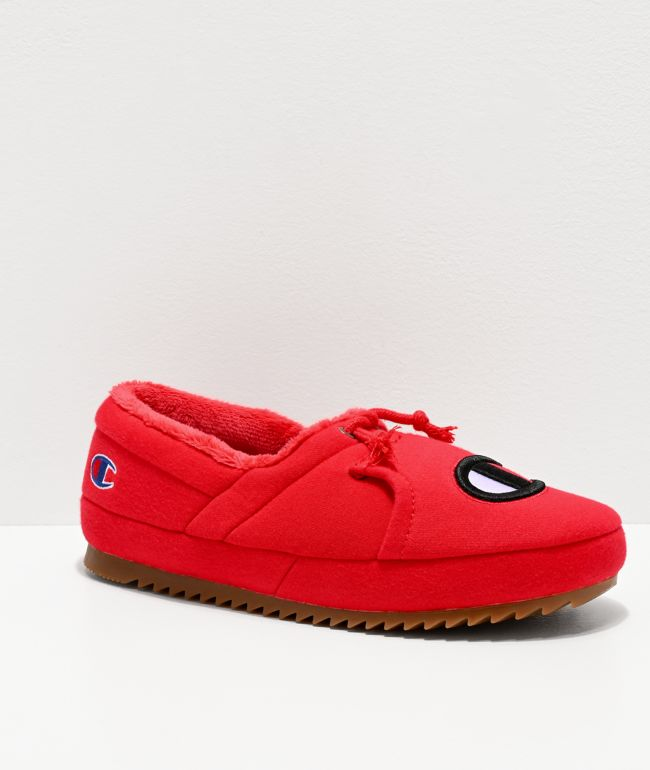 Champion University Red Slippers | Zumiez