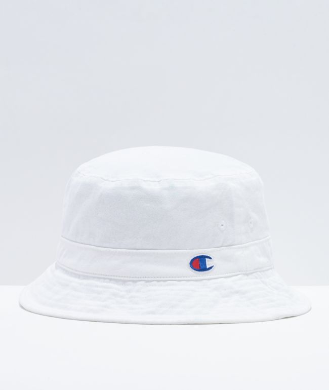 Champion Washed White Bucket Hat