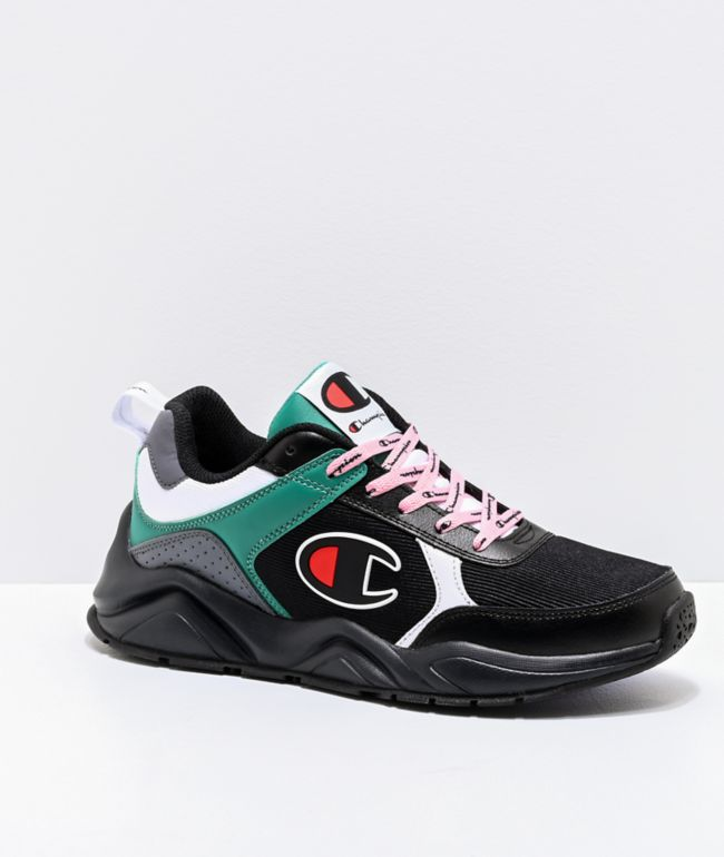 Black, Grey, Green \u0026 White Shoes | Zumiez