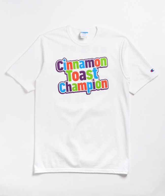Champion x General Mills Crunch White T-Shirt