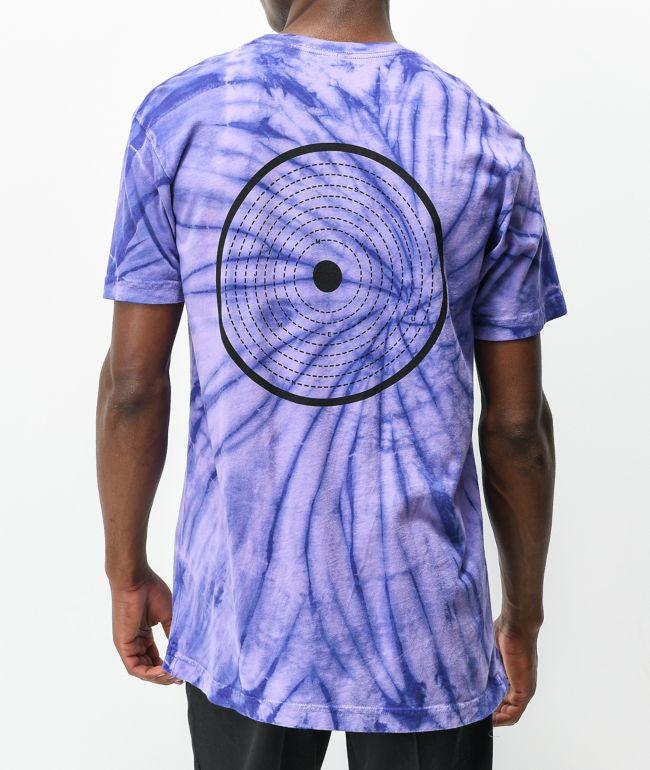 Cloak Mission Purple Tie Dye T-Shirt