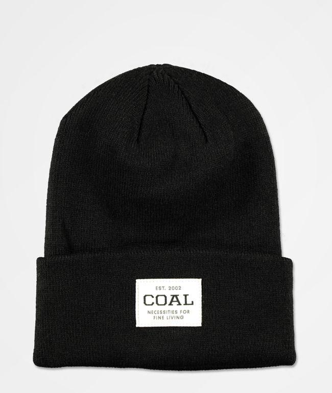 Coal The Uniform Black Beanie