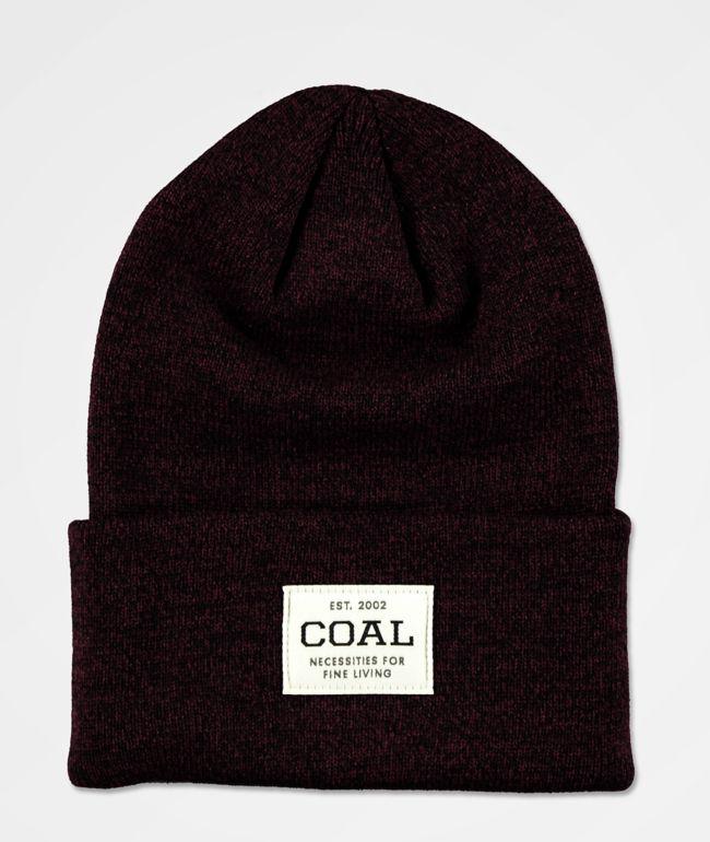 Coal Uniform gorro borgoño oscuro