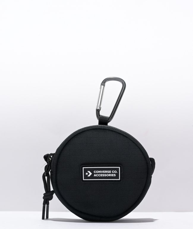 Converse Black Utility Pouch