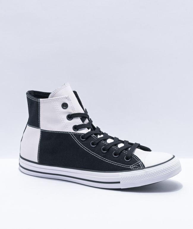 Converse CTAS HI UV Black & Magenta High Top Shoes