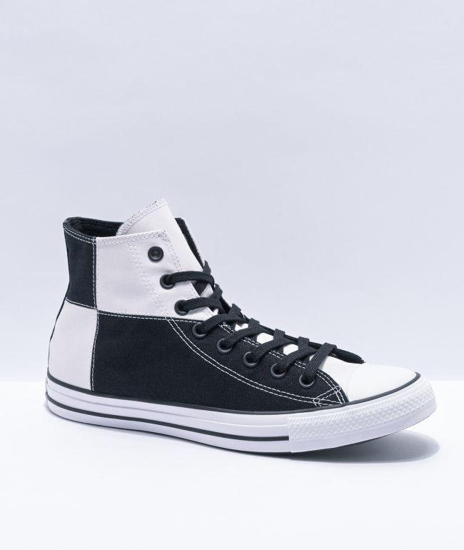 Subir y bajar Becks Cadera  Converse CTAS HI UV Black & Magenta High Top Shoes | Zumiez
