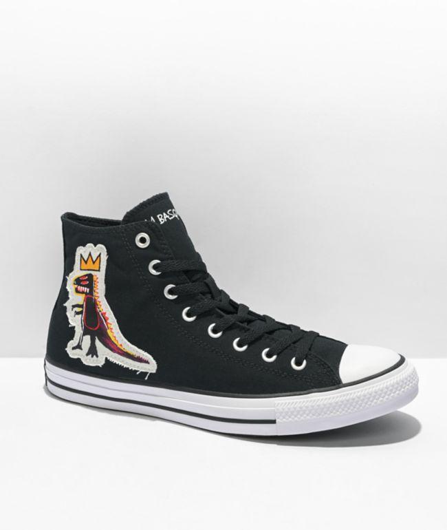 Converse Chuck Taylor All Star Basquiat Pez Black High Top Shoes