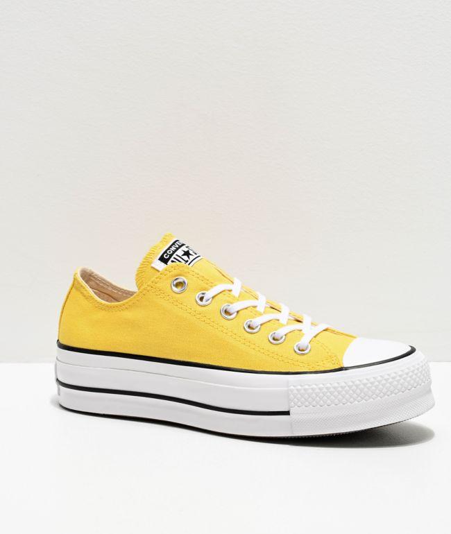 zapatos de plataforma converse