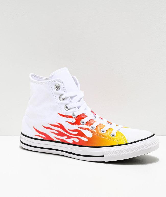 converse flamme