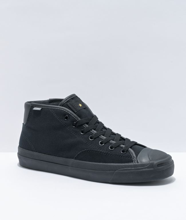 Converse Jack Purcell Pro Mid Black