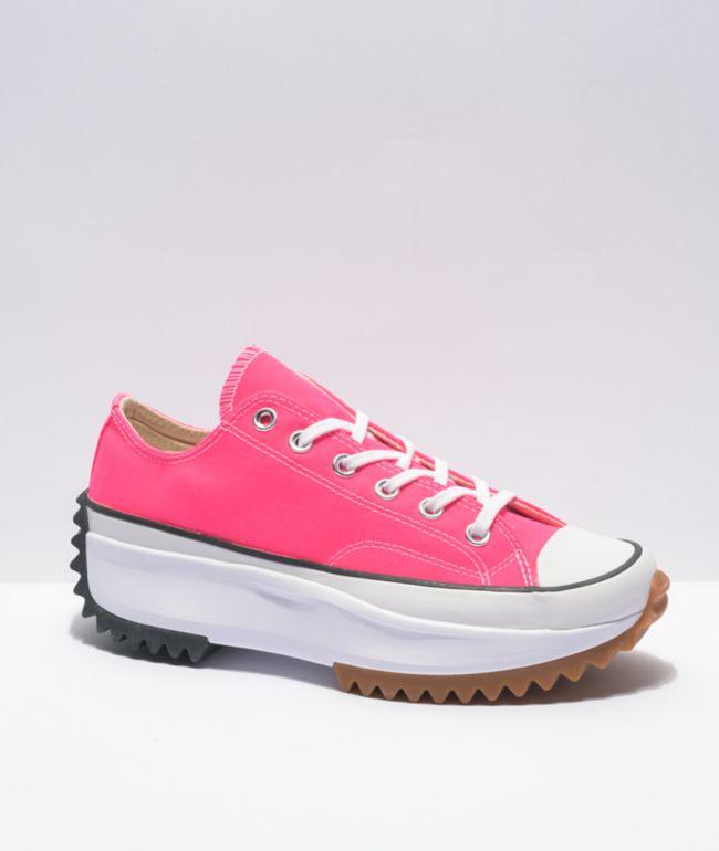 Converse Run Star Hike Ox Hyper Pink Shoes