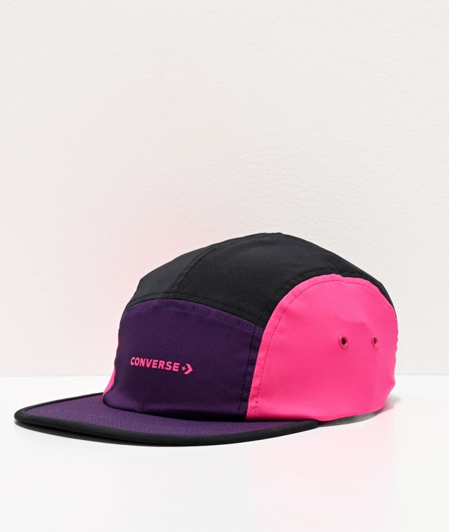 Converse Swap Out Purple & Pink 5 Panel Hat