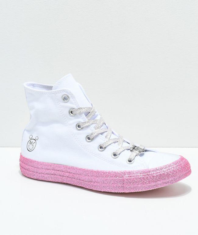 Converse x Miley Cyrus White \u0026 Pink