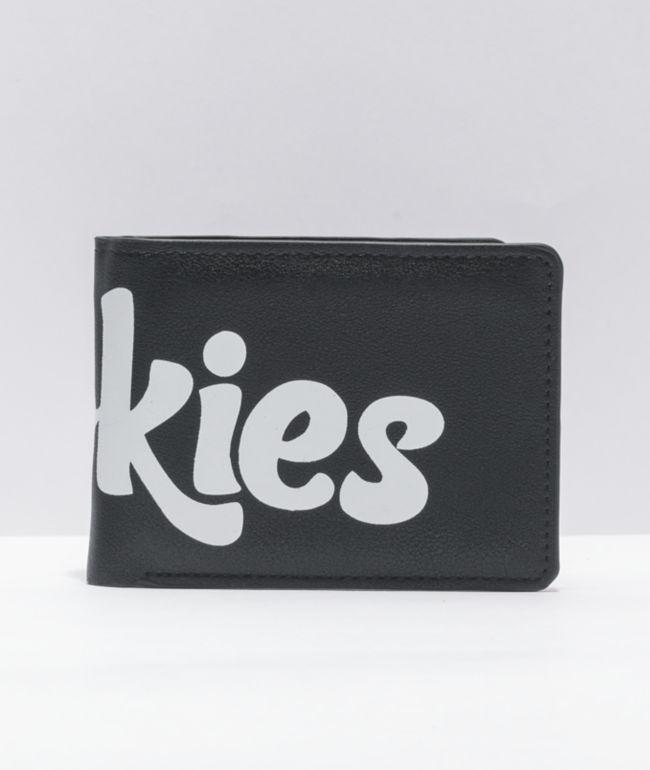 Cookies Black Bifold Wallet