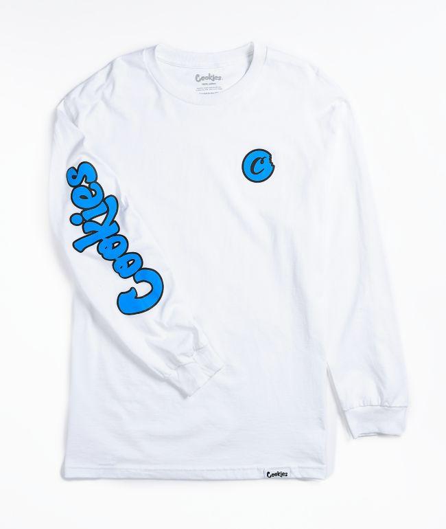 Cookies C Bite White Long Sleeve T-Shirt