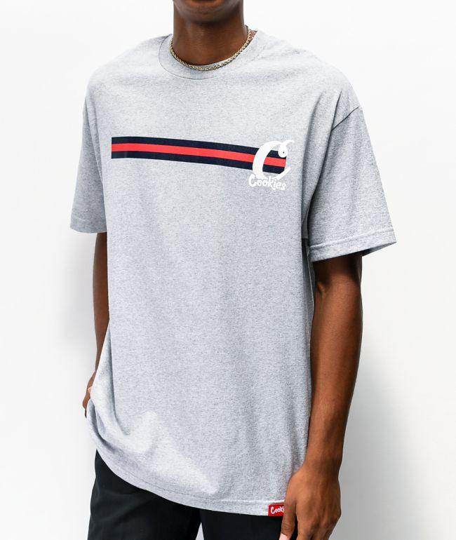 Cookies Front Runner Grey T-Shirt