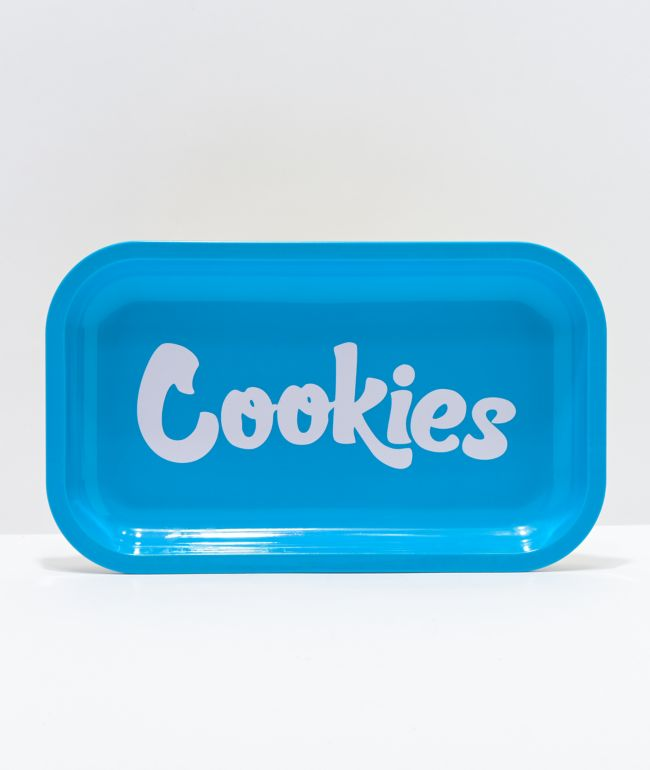Cookies Med Blue Key Tray