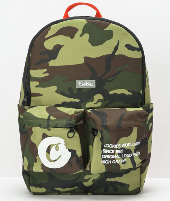 Cookies Smell Proof Orion Camo Backpack